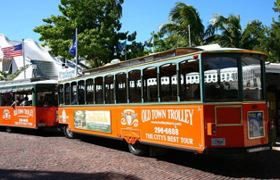 Taking a tour on the Trolley